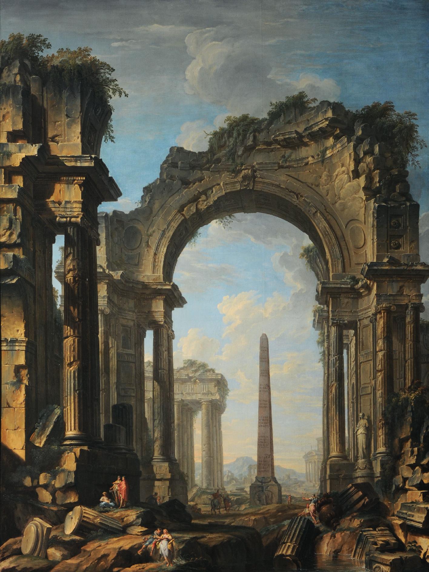 Ruines d'hier et d'aujourd'hui