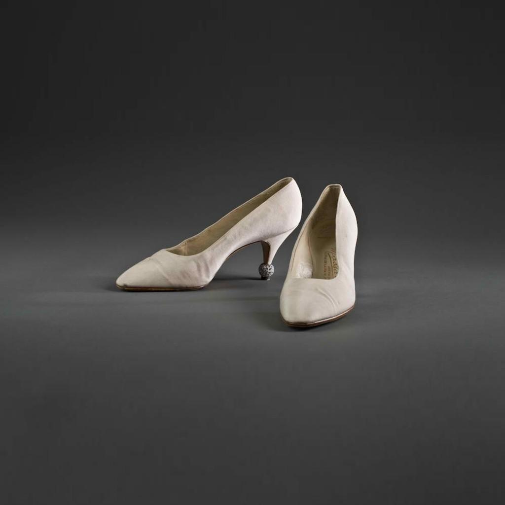Paire d'escarpins de Marlène Dietrich