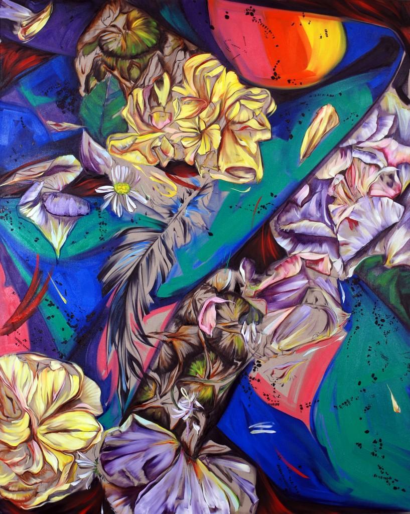 aj_Alain Patrick (5)_2011_huile sur toile_ 3x 250 x 200 cm