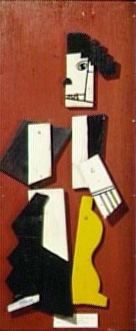 29- Fernand Léger CHARLOT CUBISTE 1924