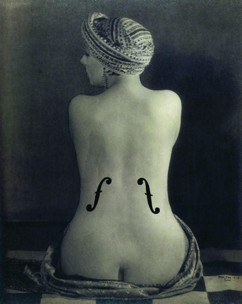 017. Man Ray Le violon d'Ingres