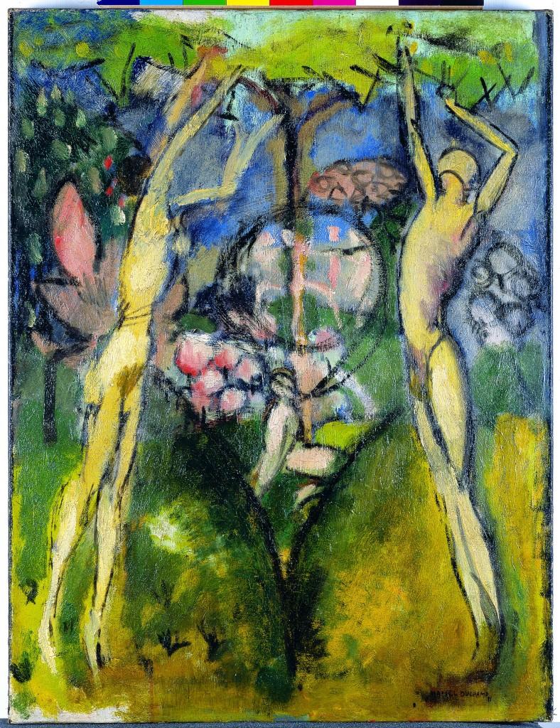 05. Marcel Duchamp, Le Printemps ou Jeune homme et jeune fille dans le printemps