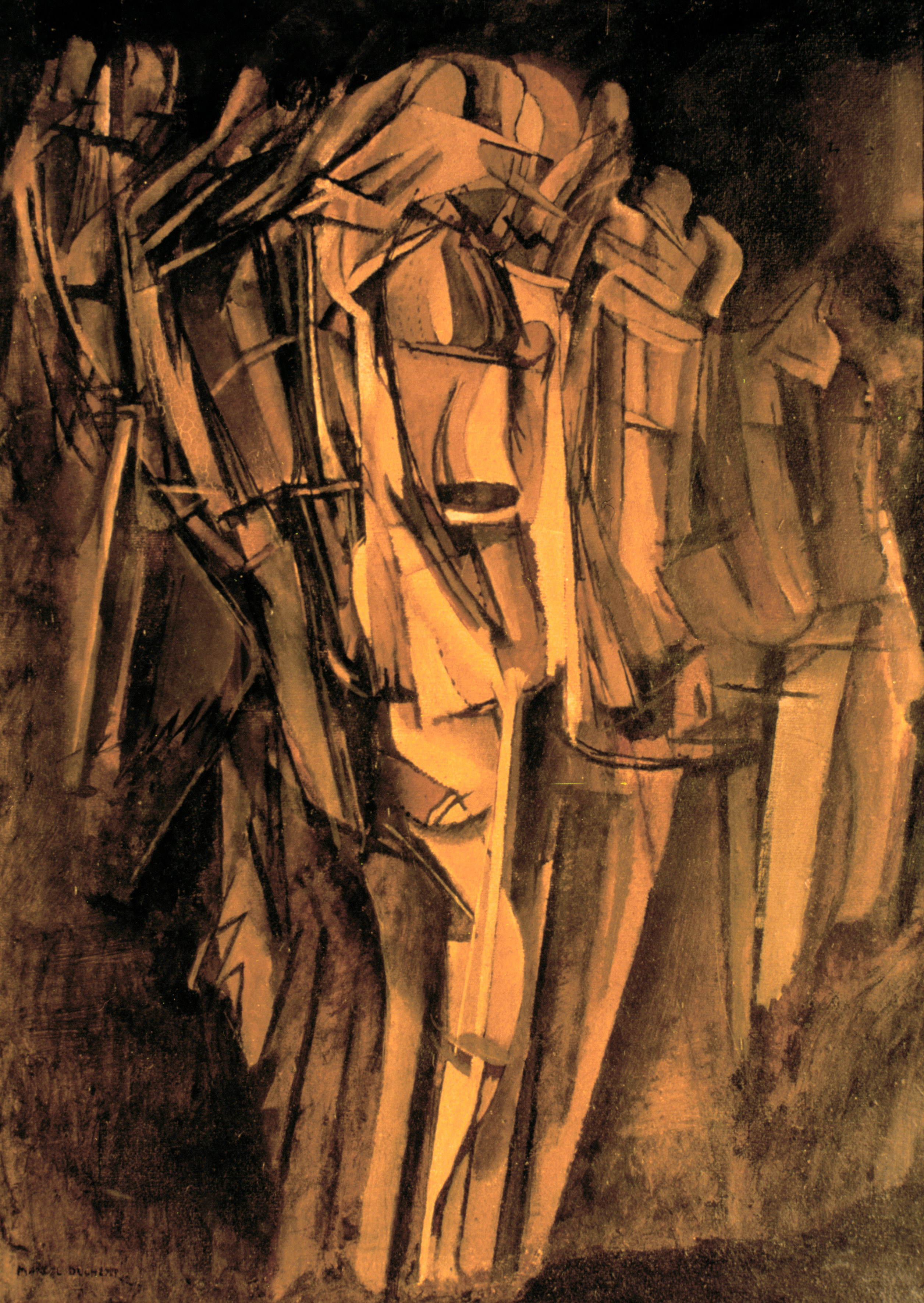 Marcel Duchamp, même en peinture