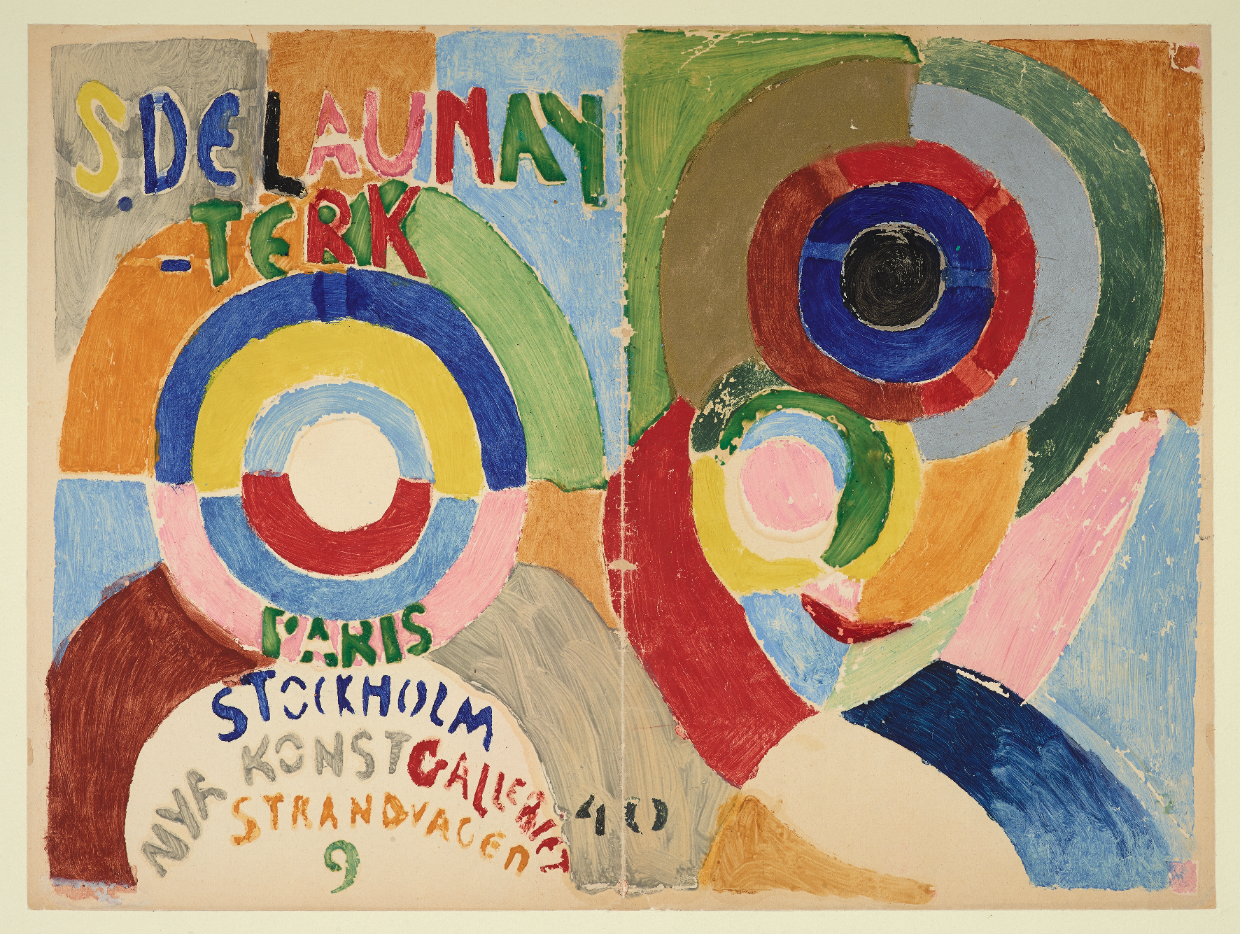 Sonia Delaunay, artiste pop