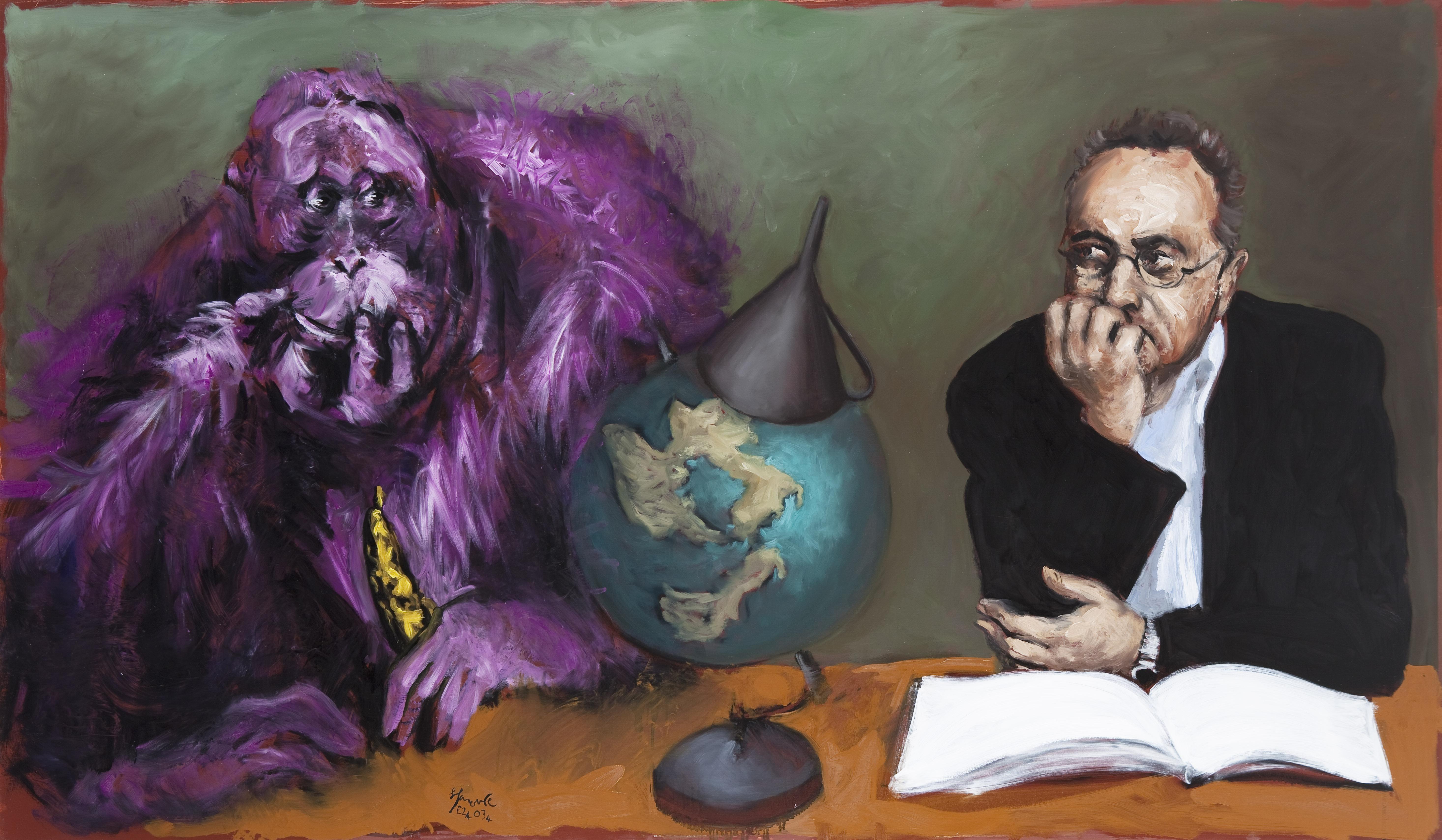 Garouste, peintre lettré