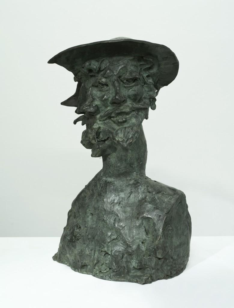 GAROUSTE - 2013 - Don Quichotte bronze
