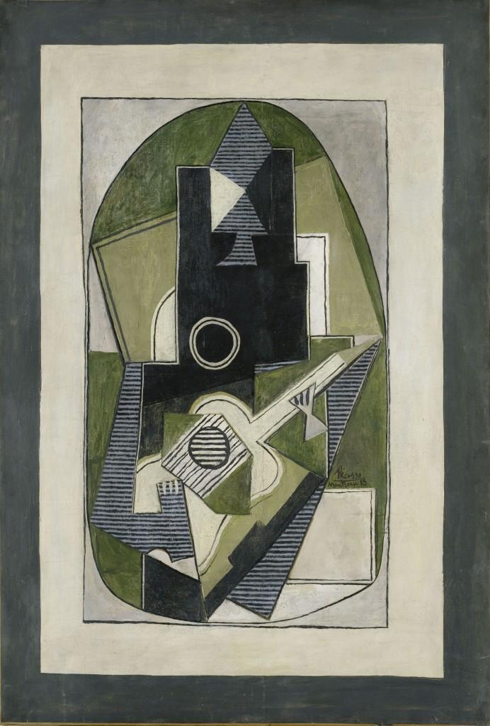 Pablo Picasso [1881 - 1973], Spanischer Maler, Grafiker und Bildhauer Datierung: 1918Material/Technik: Gemälde / Öl auf Leinwand Inventar-Nr.: 5151, Artist: Pablo Picasso