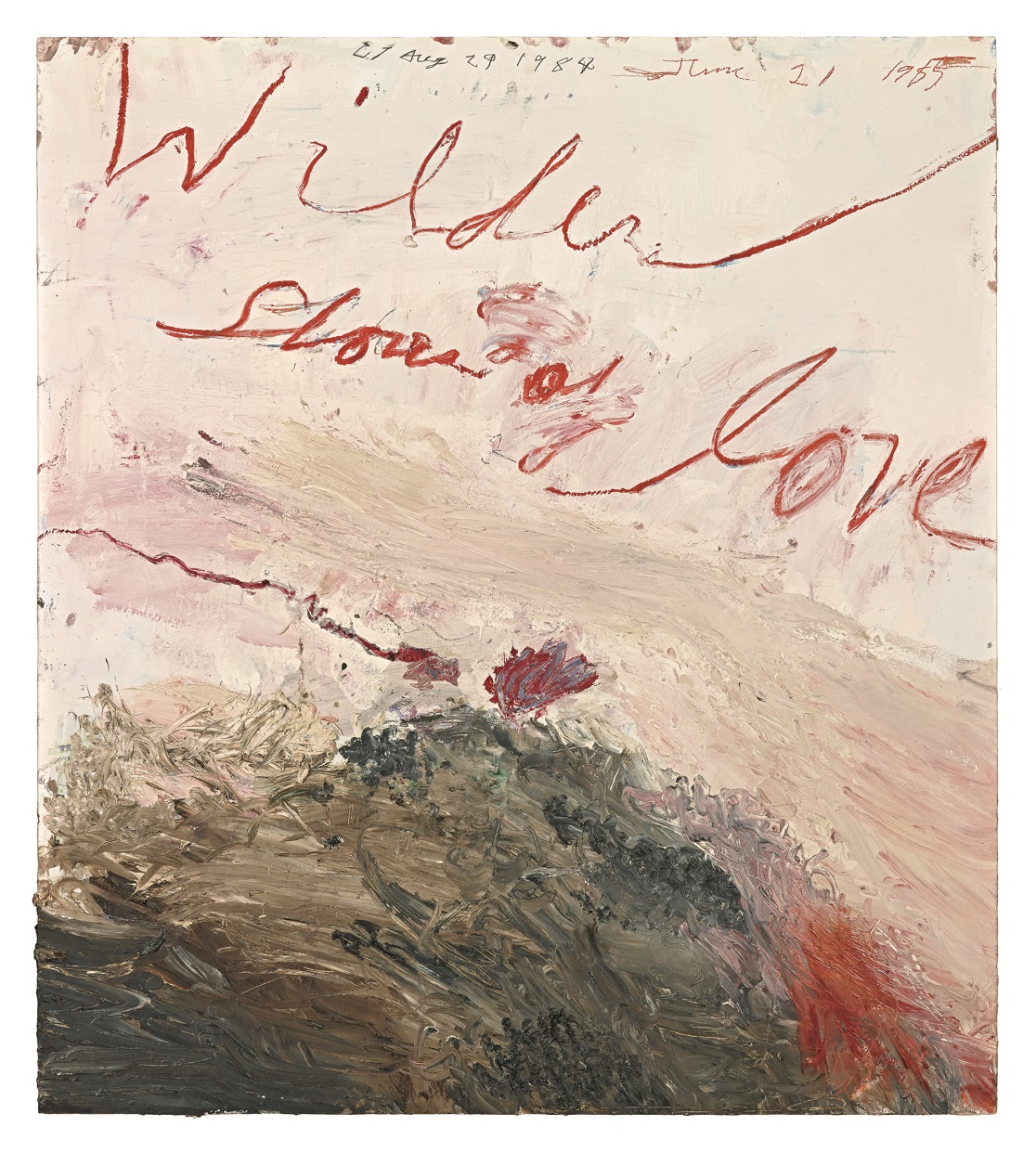 Twombly, les mythes et la chair