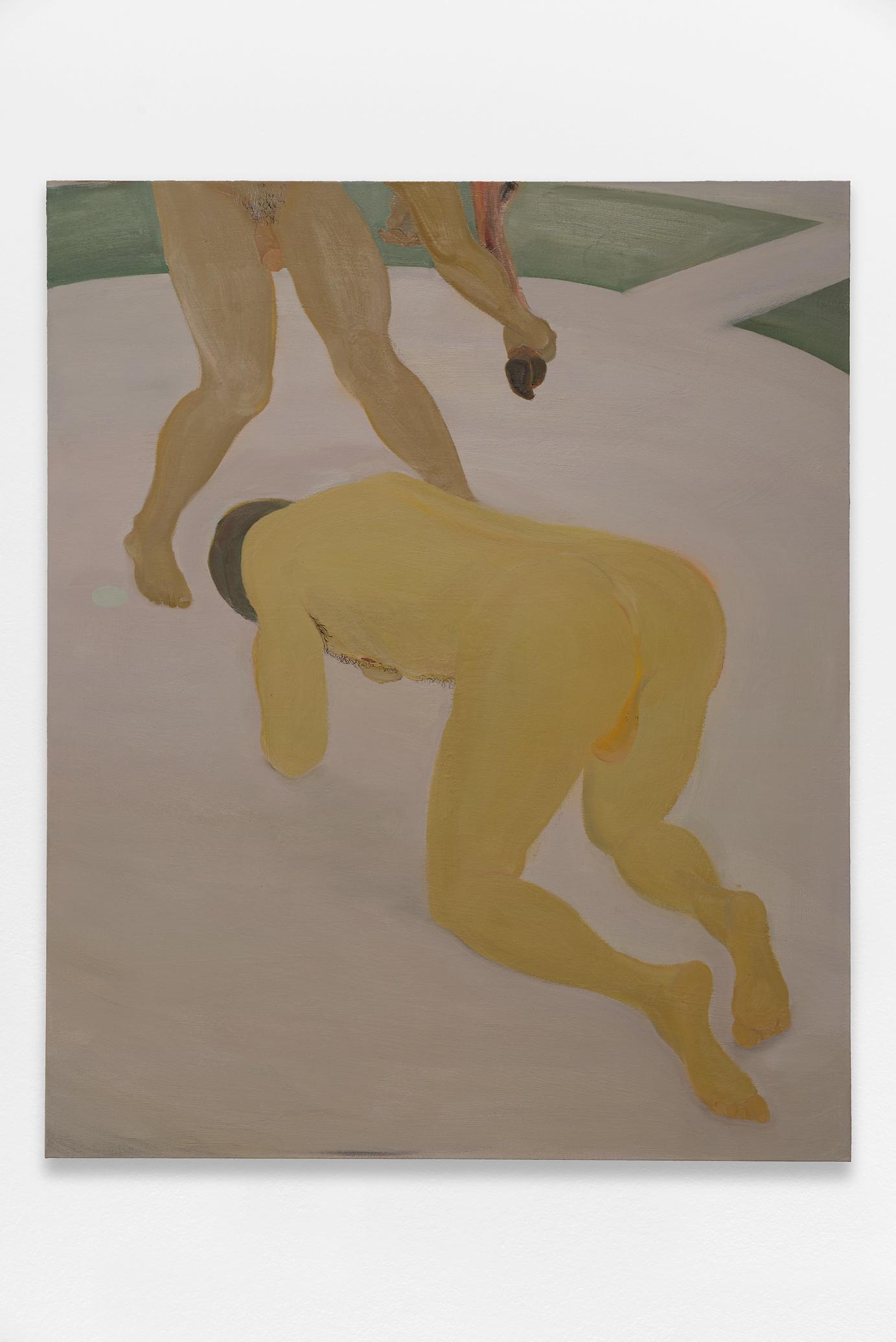 Xinyi Cheng, peinture au poil
