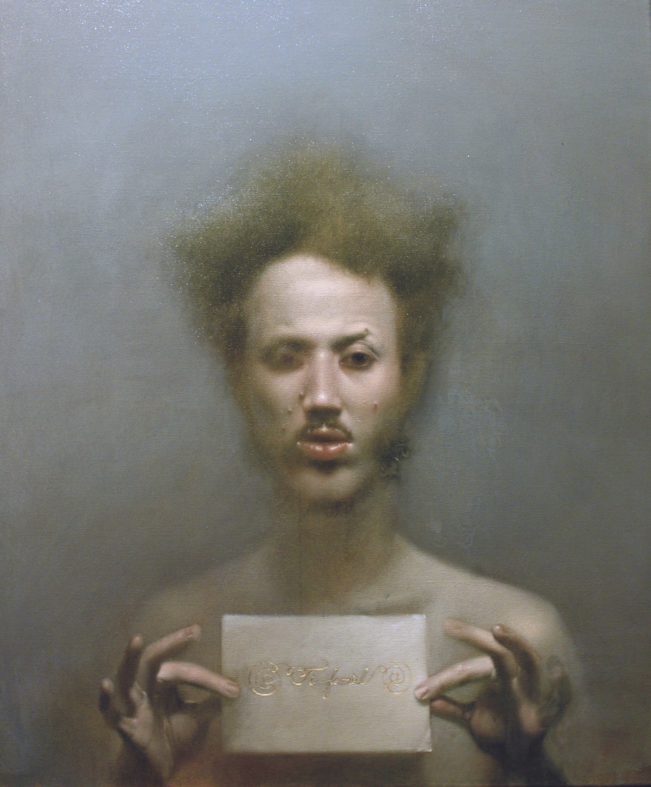 Abel Techer, corps et peinture fluides