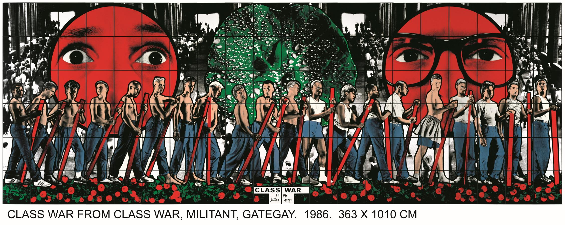 Léger/Gilbert & George, rencontre inattendue